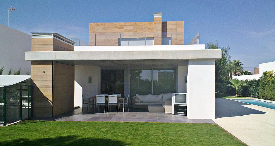 Fuster arquitectos fuster vivienda unifamiliar casa - Casas unifamiliares modernas ...