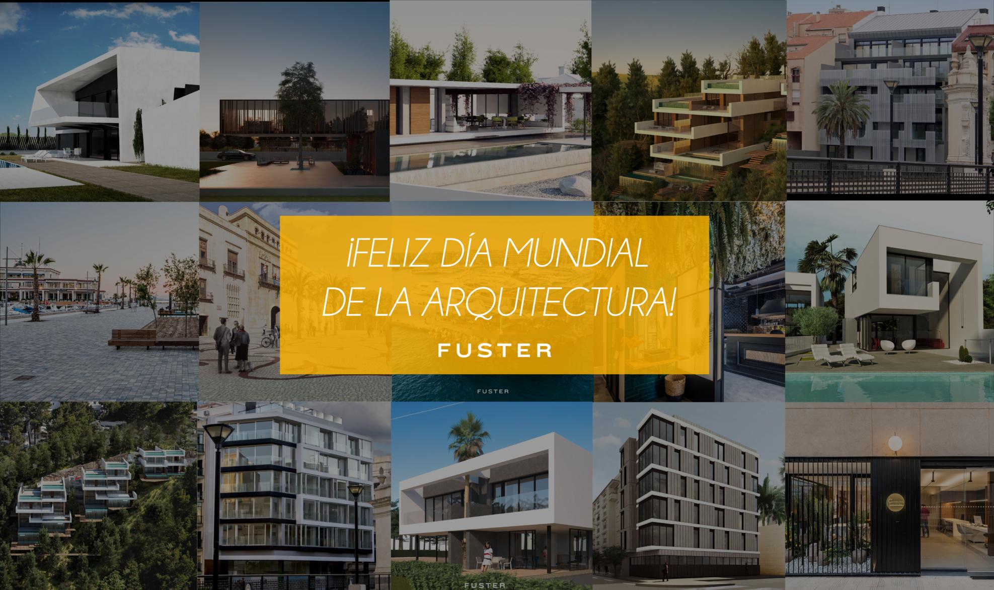 Fuster Collage viviendas dia mundial arquitectura